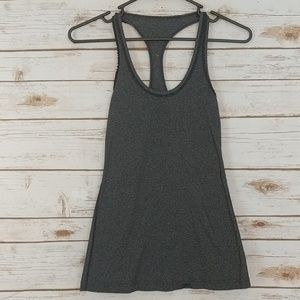 Lululemon Athletica Gray Workout Tank Top